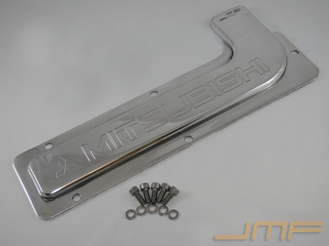 JMF DSM Deluxe Spark Plug Cover - Mitsubishi Engraving