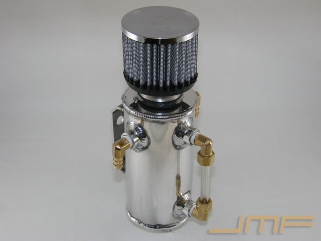 JMF Deluxe Aluminum Oil Catch Can