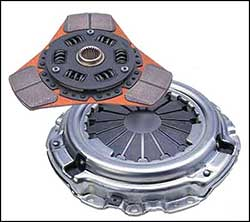 Exedy Stage 2 Cerametallic HD Clutch Kit-EVO 8/9
