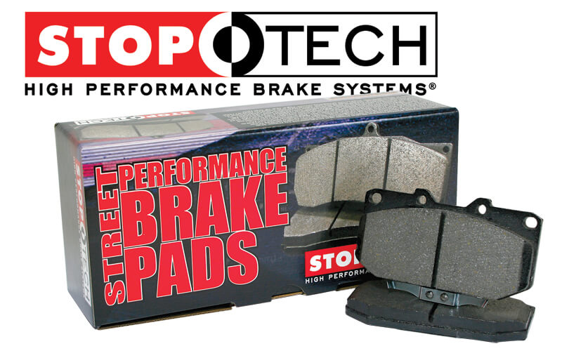 StopTech Street Performance Brake Front Pads-Single Piston DSM