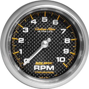 "Autometer Carbon Fiber Tachometer (3 3/8"")"