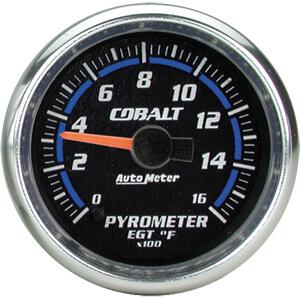 Autometer Cobalt Pyrometer Gauge Kit