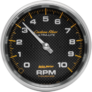 "Autometer Carbon Fiber Tachometer 5"""