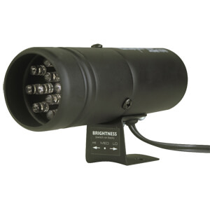 Autometer 12 LED Super-Lite Shift Light (Black)