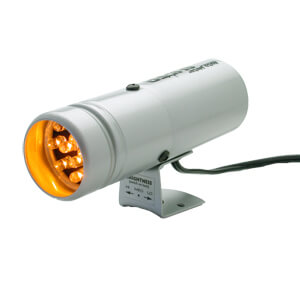 Autometer 12 LED Super-Lite Shift Light (Silver)