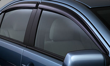 Mitsubishi Window Vent Shades: EVO X / Ralliart